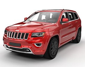 Jeep grand cherokee limited 2017 3D model