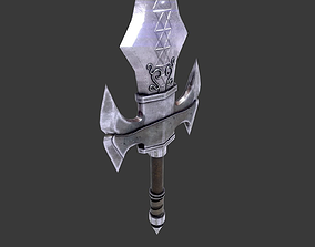 3D model Medieval Great Sword
