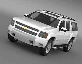 3D Chevrolet Suburban Z71 2011