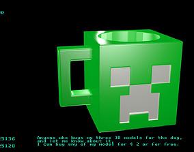 3D Cubic cup