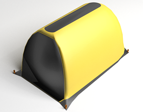 3D model Tunnel Tent