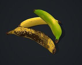 Banana tropical 3D asset VR / AR ready