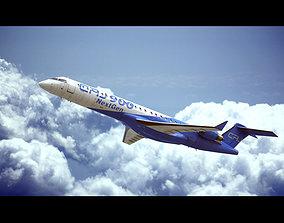 3D Bombardier CRJ 900 Next Gen