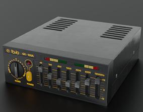 Tojo GR100A Equalizer 3D model