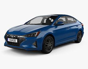 3D model Hyundai Elantra Sport Premium 2019
