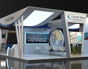 3D booth stand
