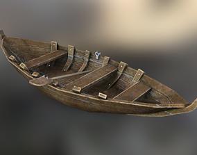 Boat pad 3D asset