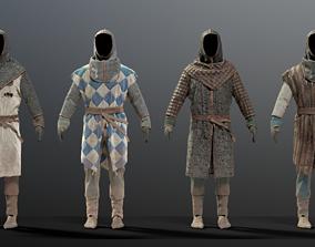 3D model SOLDIER Medieval infantryman