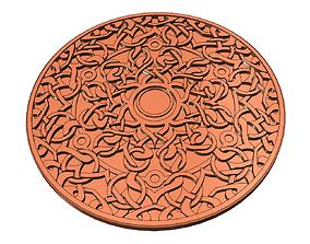 3D print model Sacral Chakra Coaster