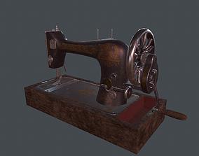 3D model Singer 127 sewing machine