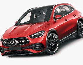 3D model Mercedes-Benz GLA 2021