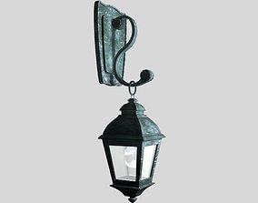 high-poly 3D model Street lamp
