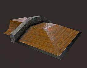 3D model Skate ramp12
