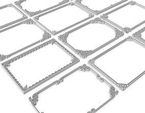 Decorative Frames 01 - 3D model