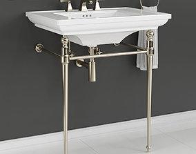 KOHLER MEMOIRS Console Table Bathroom 3D model
