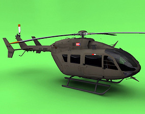 US Army UH-72 3D
