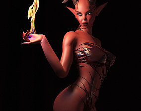 3D asset Succubus fully rigged