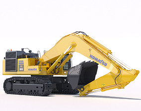 Mining Excavator Komatsu PC800 3D