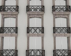 Window Frame 01 3D model