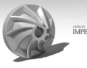impeller model 3D