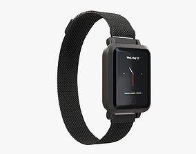 3D Smart watch 02 closed