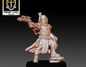 3D print model The Bounty Hunter fett