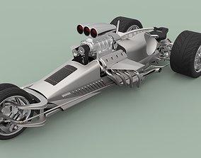 Hemi Trike Rocket 2 3D model