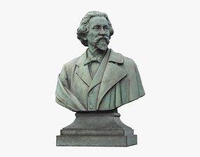 Ilya Yefimovich Repin Russian realist painter 3D asset