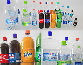 3D Bottles Collection
