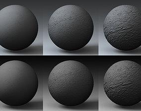 Displacement Landscape Shader 023 3D model