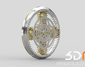 Gears Cogs 3D model