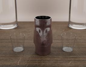 Moai Shot 3D print model