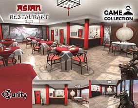 Asian Restaurant 3D model