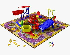 3D Mouse Trap Animated model animated