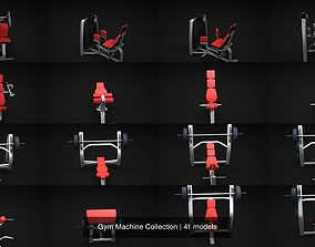 3D Gym Machine Collection training