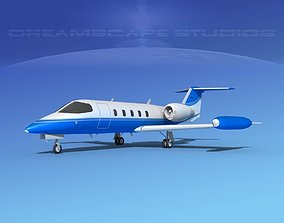 Gates Learjet 35 V14 3D model