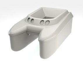 3D print model Fishing rc boat