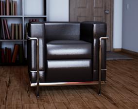 UE4 Asset - LC2 Armchair by Le Corbusier 3D model