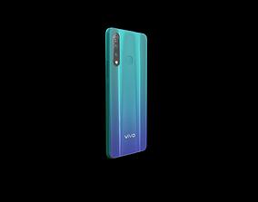 mobile smartphone 3D asset