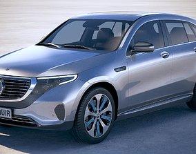 3D Mercedes-Benz EQC 2020