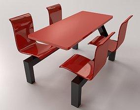 Restaurant Furniture v2 3D