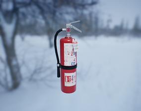 Fire Extinguisher PBR 3D model VR / AR ready