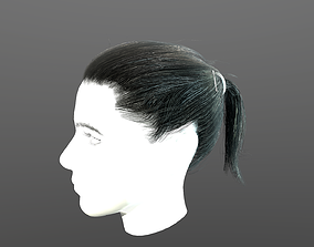 Real-time hair 6 3D model