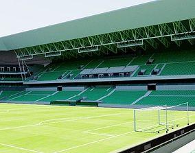 Stade Geoffroy-Guichard - Saint Etienne 3D model