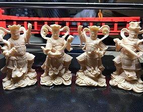 3D print model 4 Heavenly Kings