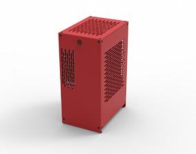 3D model Mini-ITX Case Konsep