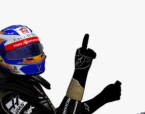 3D model Romain Grosjean 2019