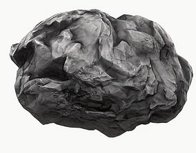 3D model game-ready Meteor Asteroid Rock 4K