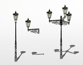 3D Prague Streetlamps