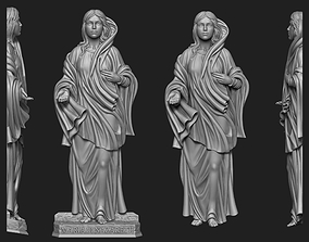3D printable model Maria Di Nazareth Relief